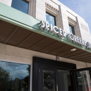 The exterior sign at Spicer Greene Jewelers