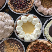 multiple selections of pies from Baked Pie Company