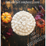 Pumpkin marshmallow pie by Baked Pie Company