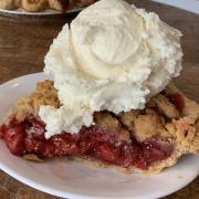 Strawberry pie from Baked Pie Company