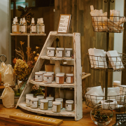 product display at Element Tree Essentials