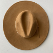 brown hat from Embellish Asheville