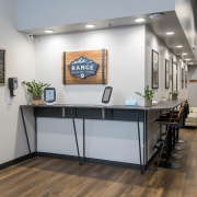 welcome lobby at Range Urgent Care