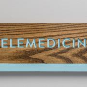 telemedicine sign at Range Urgent Care