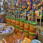 Rocket Fizz of Asheville lollipops