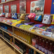 Candy collection at Rocket Fizz of Asheville