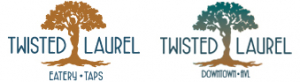 Twisted Laurel Weaverville and Downtown Asheville logos